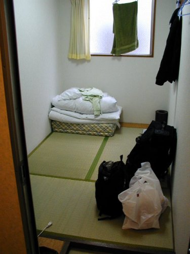 Cheap Japanese Style Hotel Room