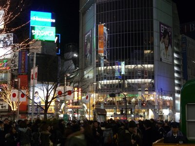 New Year in Tokyo, Japan